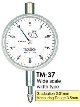 Đồng hồ so TM-37 Teclock