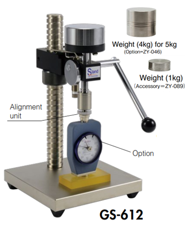 Chân đế đồng hồ đo dộ cứng cao su GS-612 Teclock