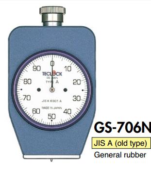 Đồng hồ đo độ cứng cao su GS-706N Teclock