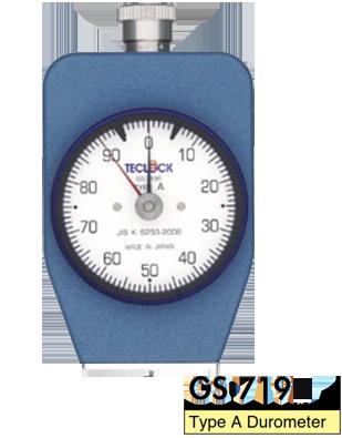 Đồng hồ đo độ cứng cao su GS-719G Teclock