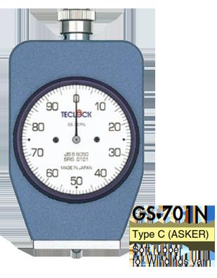 Đồng hồ đo độ cứng cao su mềm GS-701N Teclock