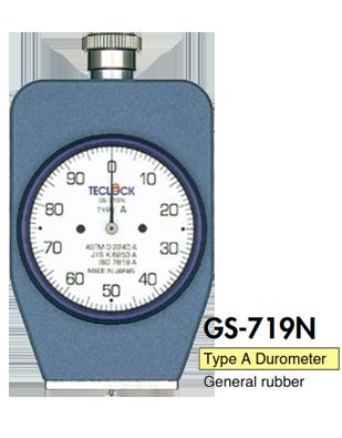Đồng hồ đo độ cứng cao su type A GS-719N Teclock