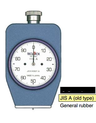Đồng hồ đo độ cứng cao su Type D GS-702N Teclock
