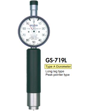 Đồng hồ đo độ cứng type A chân dài GS-719L Teclock