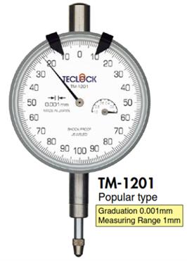 Đồng hồ so 0.001mm TM-1201 Teclock - Teclock Vietnam