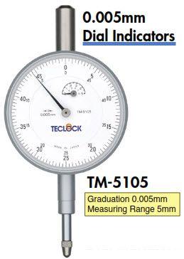 Đồng hồ so 0.005mm TM-5105 Teclock
