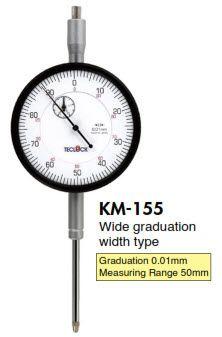 Đồng hồ so KM-155 Teclock