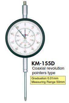 Đồng hồ so KM-155D Teclock