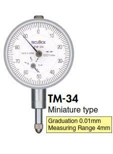 Đồng hồ so Teclock TM-34 - Teclock Vietnam