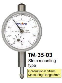 Đồng hồ so Teclock - TM-35-03 Teclock