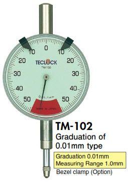 Đồng hồ so TM-102 Teclock