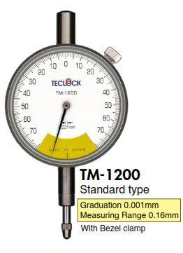 Đông hồ so TM-1200 Teclock