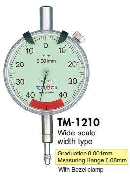 Đồng hồ so TM-1210 Teclock