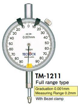 Đồng hồ so TM-1211 Teclock