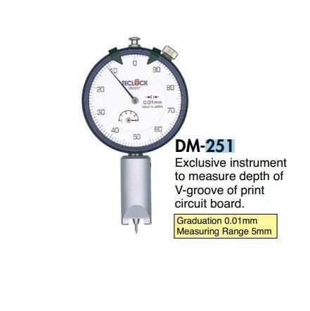 Dụng cụ đo độ sâu bo mạch in, lớp phủ