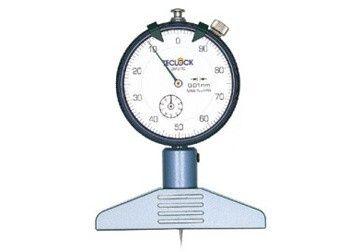 Dụng cụ đo độ sâu hiển thị cơ 0-5mm/0-10mm
