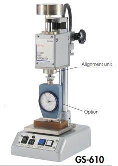 Máy đo độ cứng cao su bán tự động GS-610 Teclock
