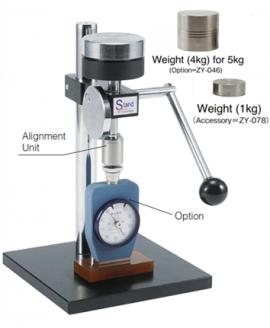 Chân đế đồng hồ đo độ cứng cao su GS-615 Teclock