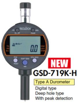 Đồng hồ đo độ cứng điện tử type A GSD-719K-H Teclock