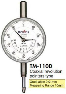 Đồng hồ so 0.01mm TM-110D Teclock