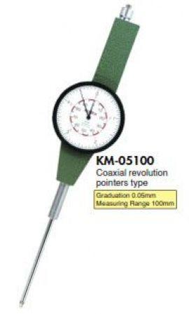 Đồng hồ so kim dài KM-05100 Teclock