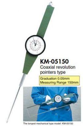 Đồng hồ so kim dài KM-05150 Teclock