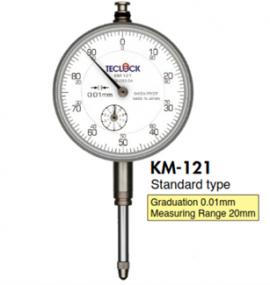 Đồng hồ so KM-121 Teclock