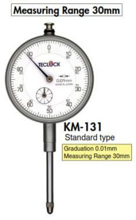 Đông hồ so KM-131 Teclock
