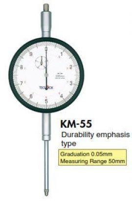 Đồng hồ so KM-55 Teclock