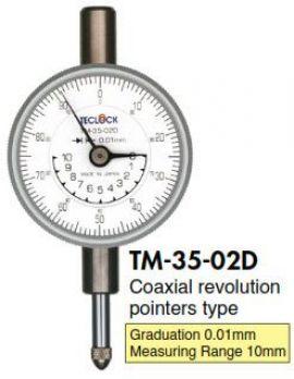 Đồng hồ so Teclock - TM-35-02D Teclock