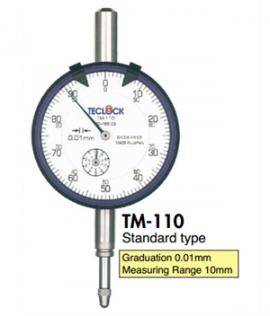 Đồng hồ so 0.01mm TM-110 Teclock