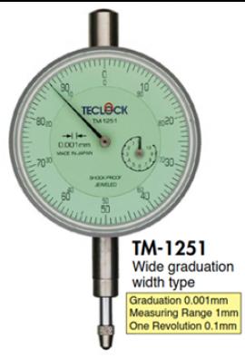 Đồng hồ so TM-1251 Teclock